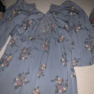 Motherhood maternity to romper Large with tags
